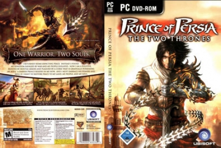 Prince of persia game DVD cover