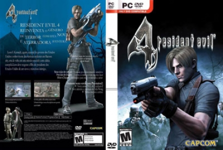 Resident evil 4 game DVD cover