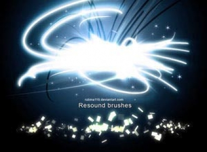 resound Photoshop brushes