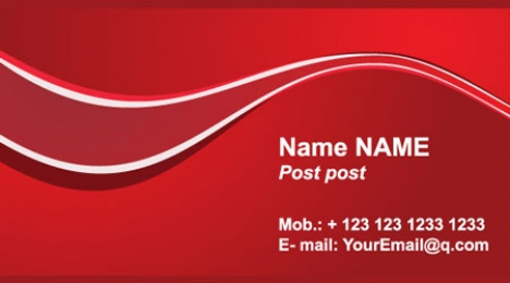 Red business card template images business cards ideas 16 vector business cards templates flashek images fbccfo Choice Image