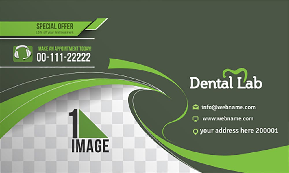 20 templates of business cards vectors dental lab business card vector reheart Images