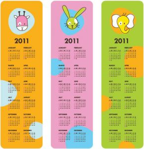 childrens-calendar-for-2011-vector3