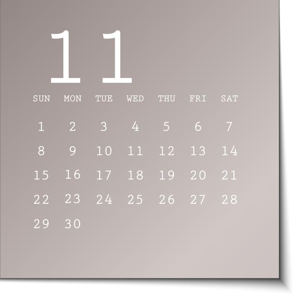 Weekly Calendar Sticky Notes : Vector calendar in metallic sticky notes
