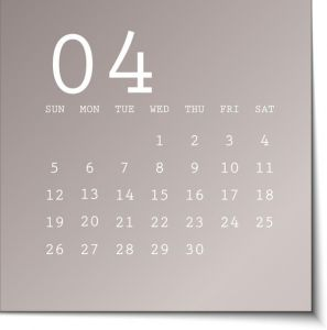 2015 calendar in metalic sticky notes design