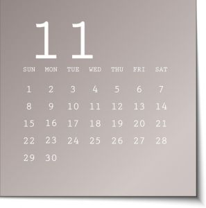2015 calendar in metalic sticky notes template