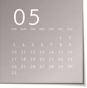 2015 calendar in metalic sticky notes vector
