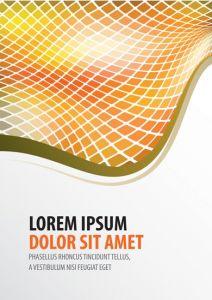 Creative brochure cover vector