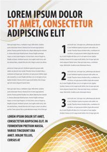 Creative brochure cover template