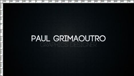 Corporate business card for Photoshop