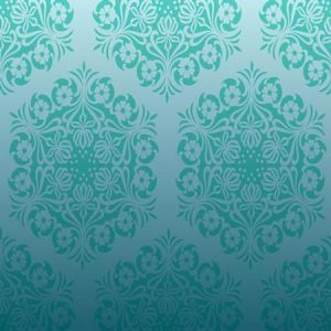 Blue vector pattern