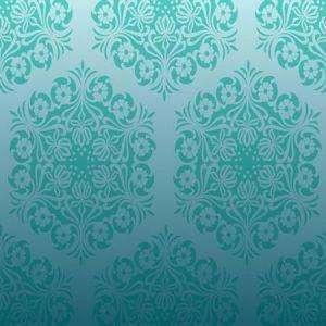 Blue vector pattern