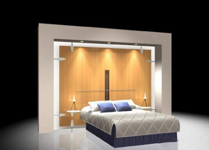 3D furniture for bedroom model