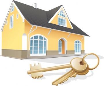 3D house vector model