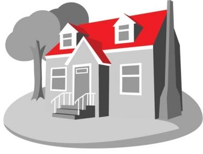 3D house vector design