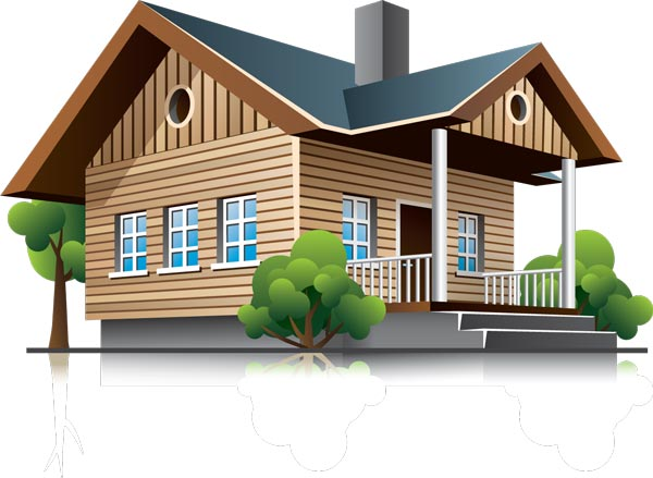3d houses and office buildings vectors for Online 3d house builder