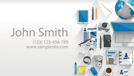Creative business cards vectors template
