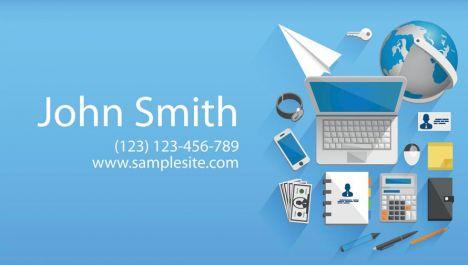Creative business cards vectors design