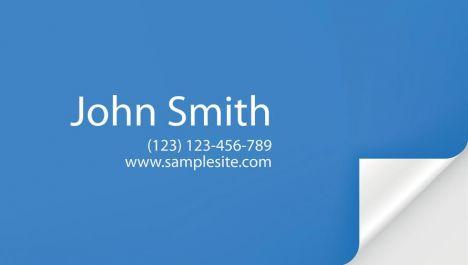 Creative business cards vector idea