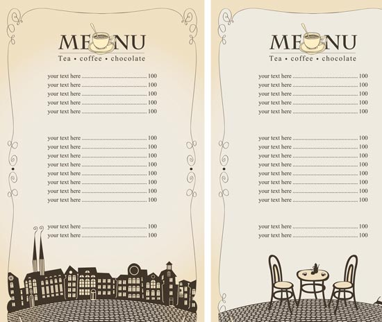 Free Menu Maker: Design Restaurant Menus | Adobe Spark