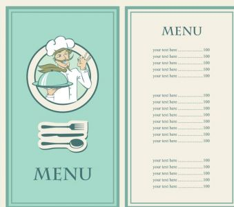 Creative restaurant template
