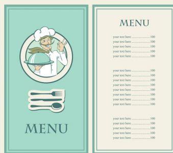 Creative restaurant template
