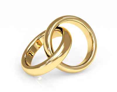 Wedding rings vector  5 wedding rings templates