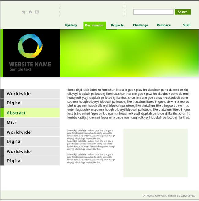 Designs Of Minimalist Website Templates - Minimalist website template