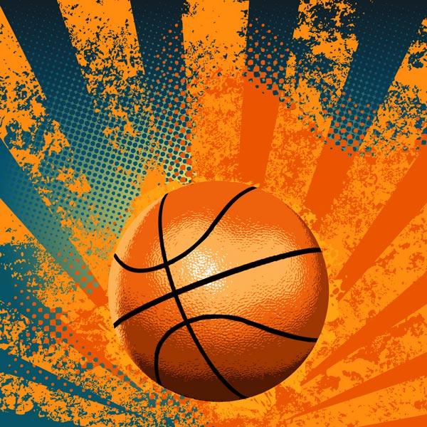 Cool Basketball Wallpapers: Abstract Basketball Vectors