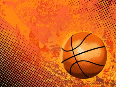 Abstract basketball vector