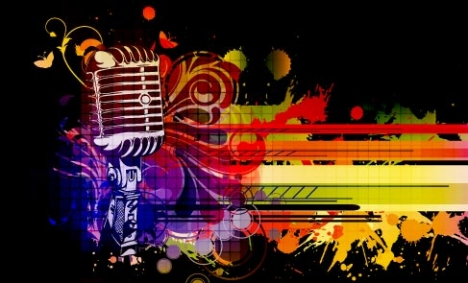 Abstract microphone template vector