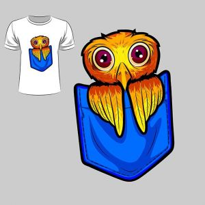 Abstract graphic design of owl for t-shirt or banner print,Abstract graphic design of owl for t-shirt or banner print