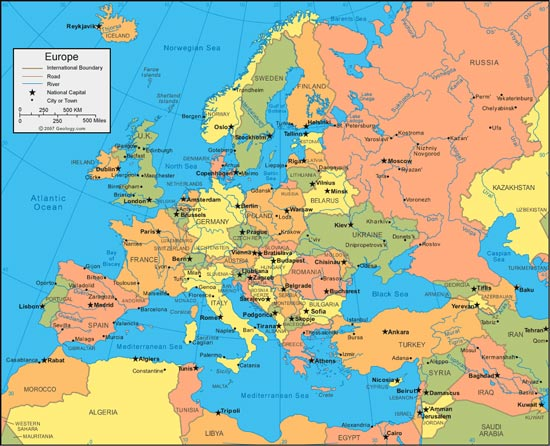 Maps Europa