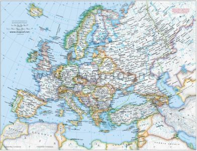 administrative-europe-map-image4
