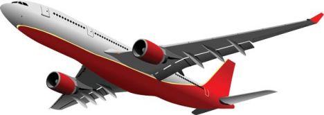 airplane-vector-model2