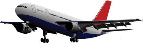 airplane-vector-model4