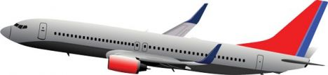 airplane-vector-model6