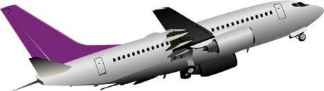 airplane-vector-model7