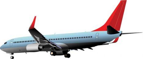 airplane-vector-model8