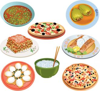 all-kind-of-food-vector5