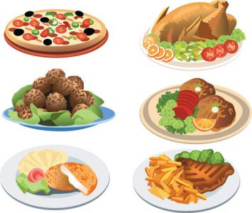 all-kind-of-food-vector6