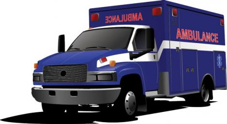 Ambulance vector design