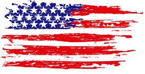 American flag vectors design