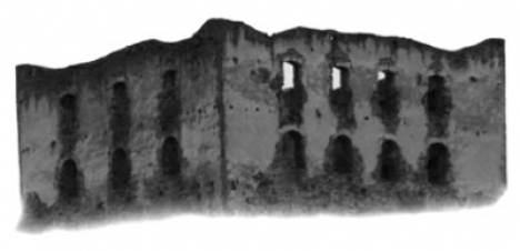 Ancient ruins brush