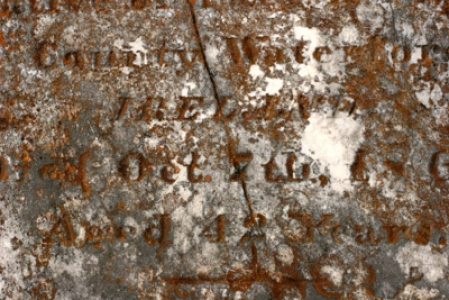 Ancient tombstone texture