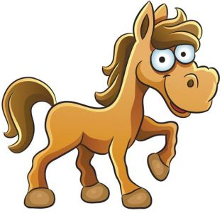 Horse animal farm vector design