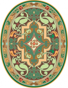 Arabic ornament vector