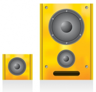 Stereo boxes vector