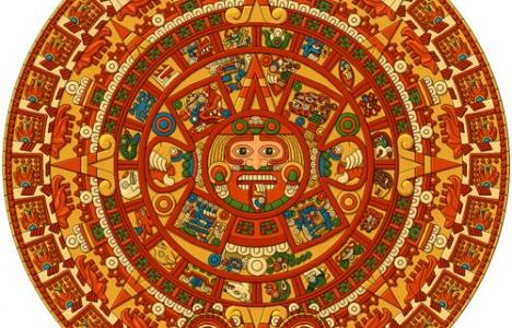 Aztec calendar symbols
