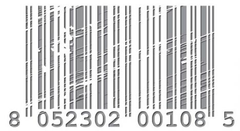 Colored bar code vector