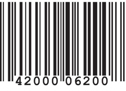 Scanned bar code vector